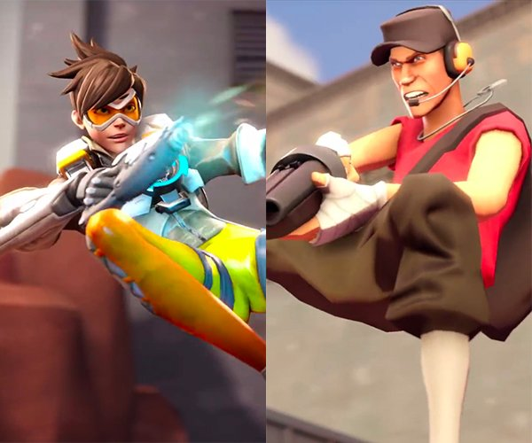 Overwatch vs. Team Fortress 2