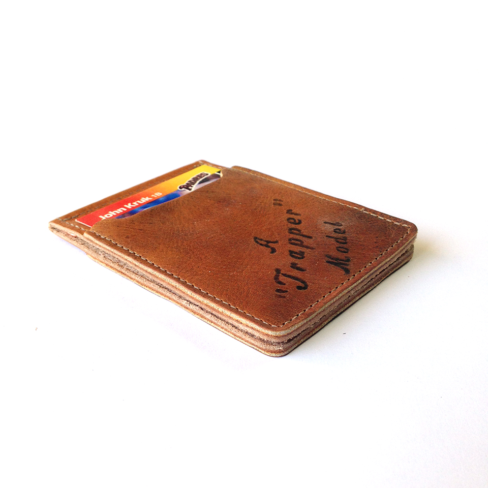 Pillbox Baseball Mitt Wallet