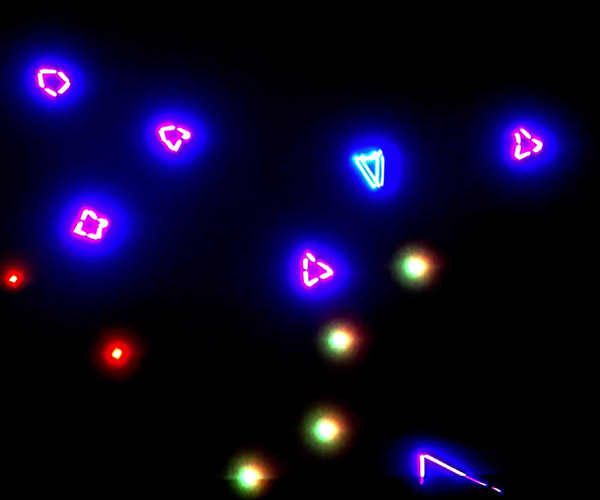 Playing Video Games with a Laser