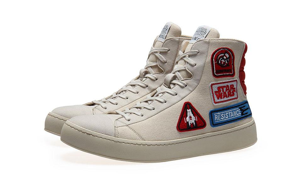 Star Wars Resistance Badge Sneakers