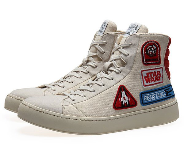 Star Wars Resistance Badge Sneakers