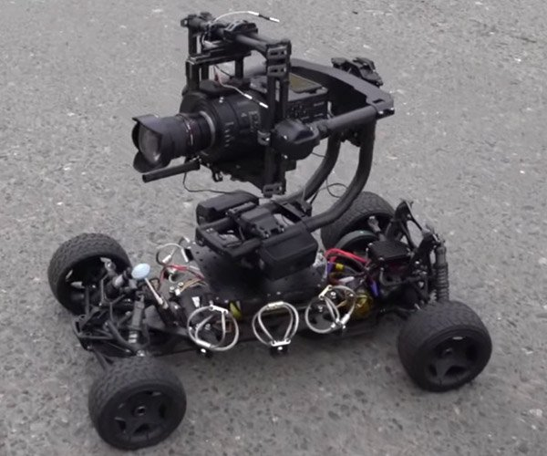 R/C Car Photography Rig