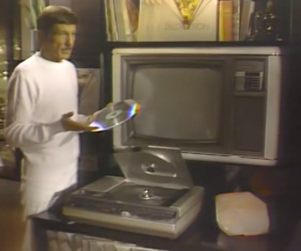 Leonard Nimoy's Laser Disc Player