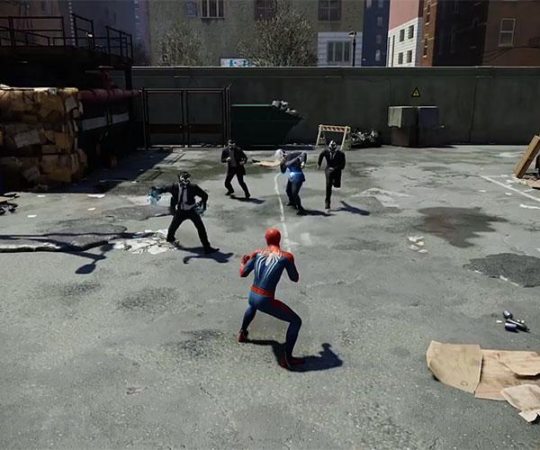 Spider-Man PS4 (Gameplay 2)