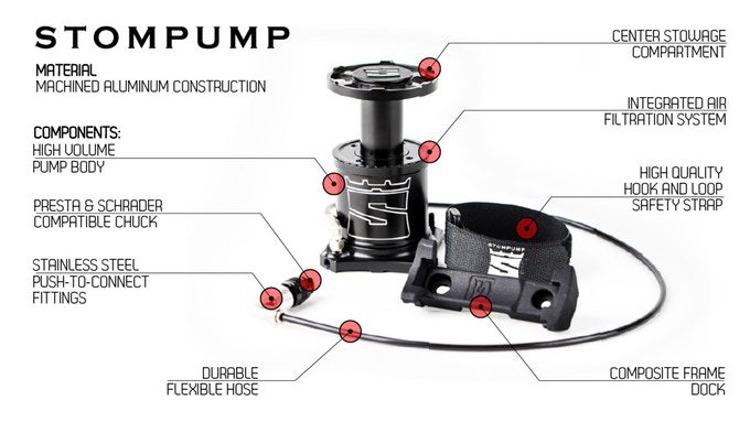 Stompump Tire Inflator