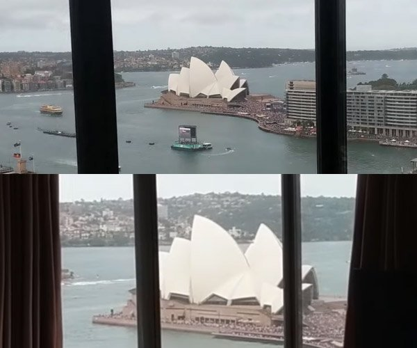 The Sydney Opera House Illusion