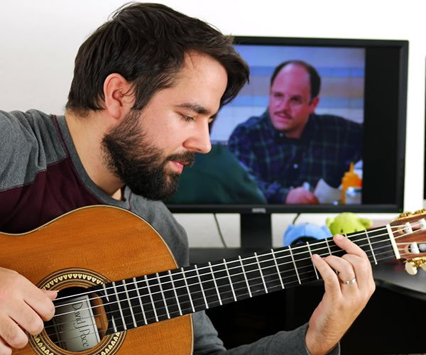 TV Sitcom Classical Guitar Medley
