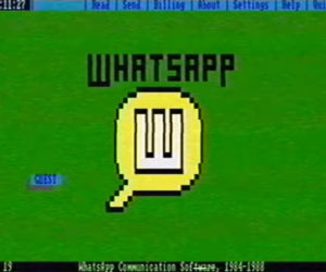 WhatsApp in the '80s