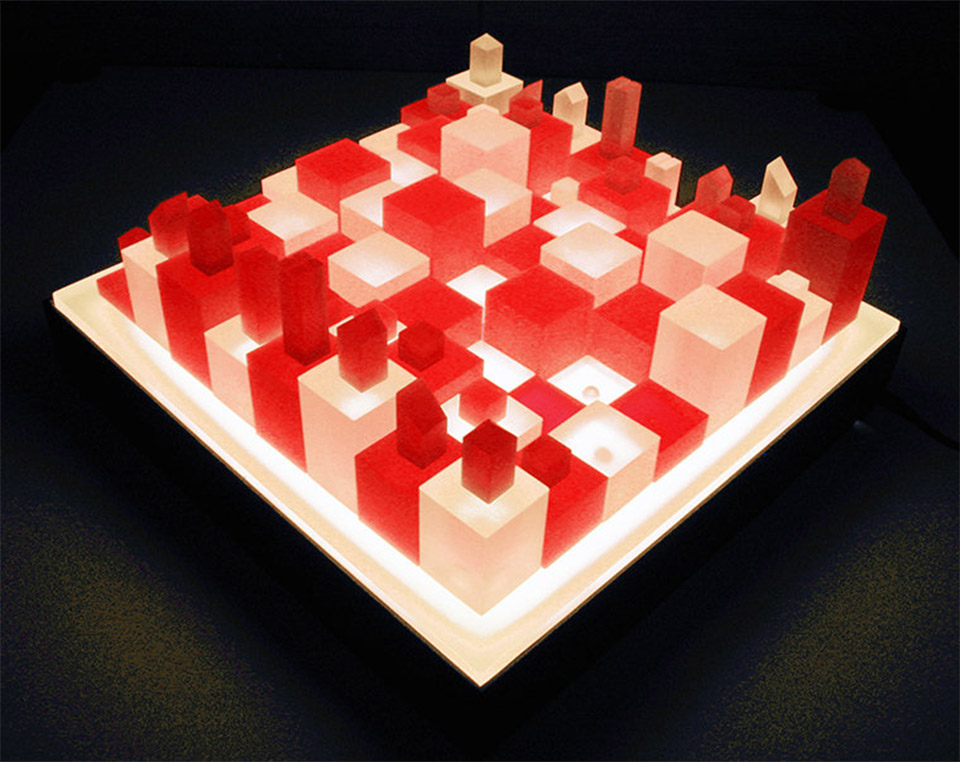 3D Cube Chess Set