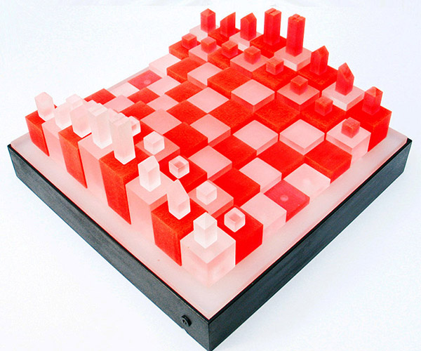 3D Cube Chess Set