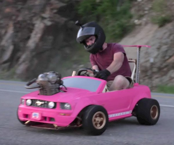 Barbie Car Engine Swap