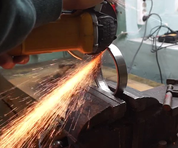 Bearing into Knife