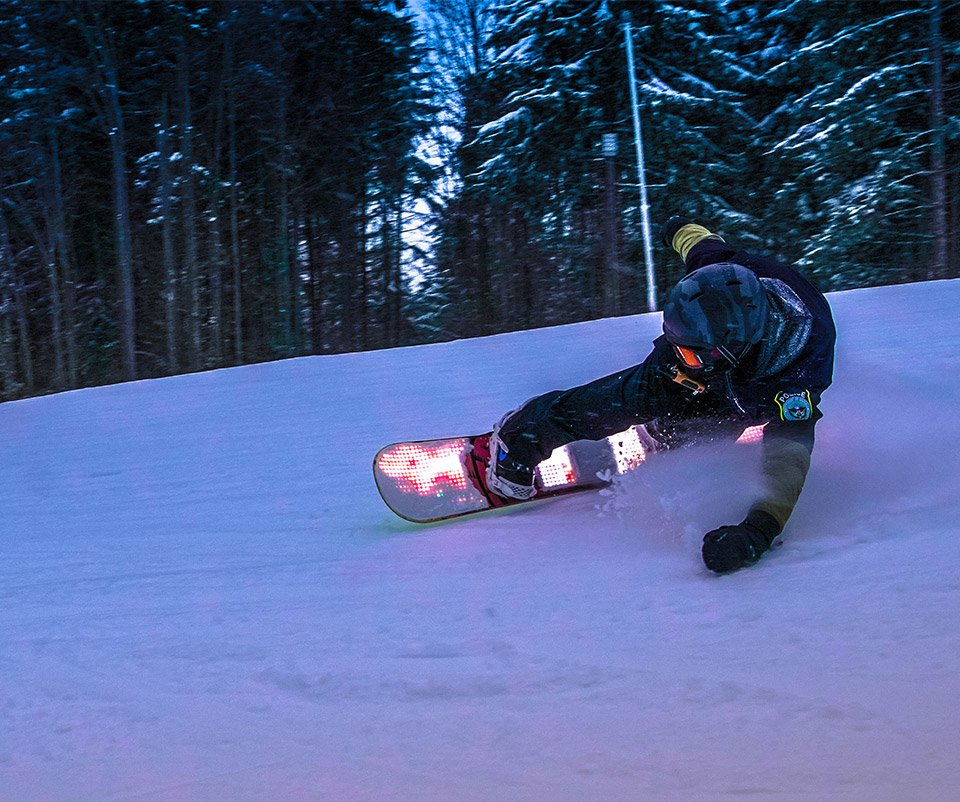 Blizzard LED Snowboard Lights
