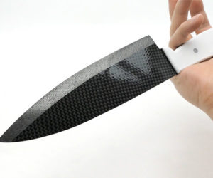 Making a Knife from Carbon Fiber