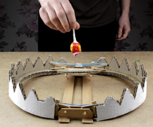 DIY Cardboard Bear Trap