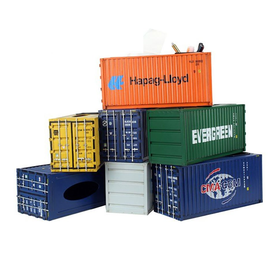 Cargo Container Tissue Box 2