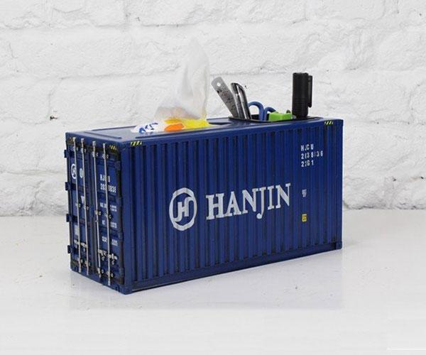 Cargo Container Tissue Box 2