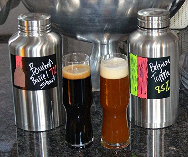 Chalkboard Beer Growler