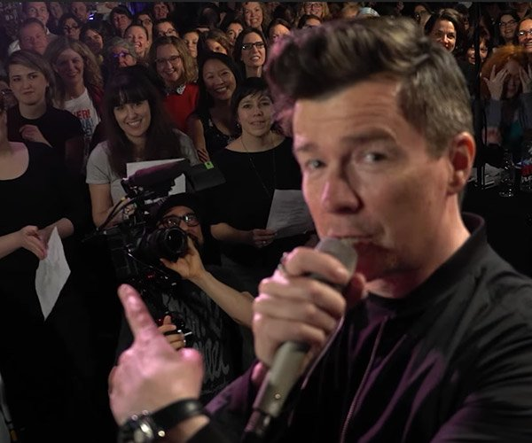 Choir Gets Rickrolled
