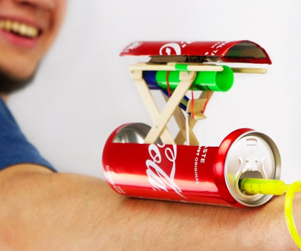 DIY Coke Can Dart Gun