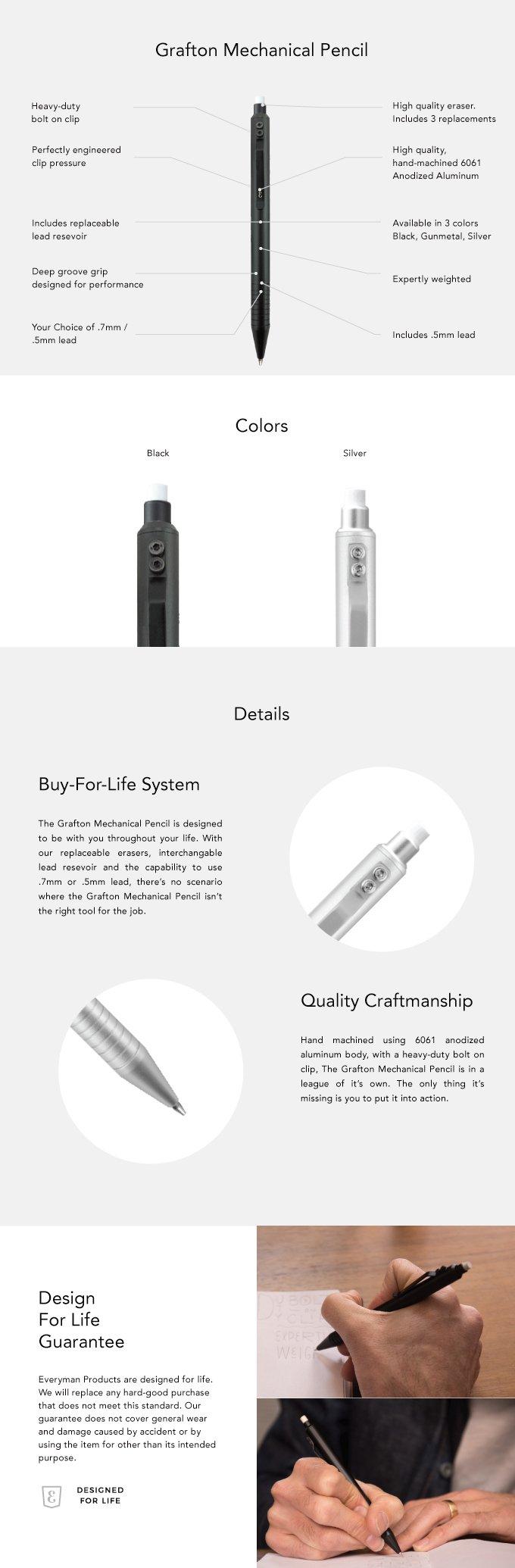 Everyman Grafton Mechanical Pencil