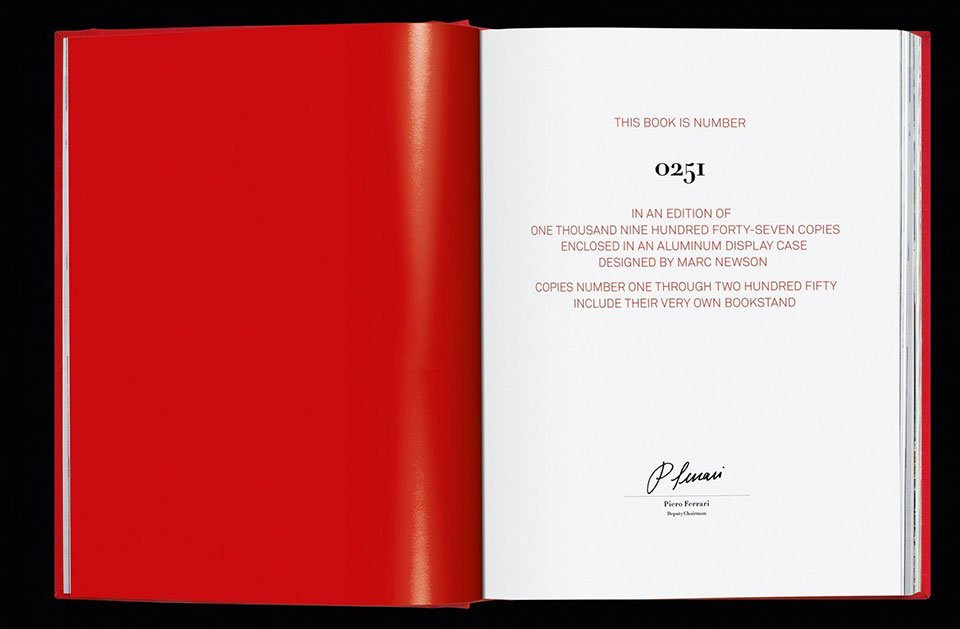 Ferrari Coffee Table Book