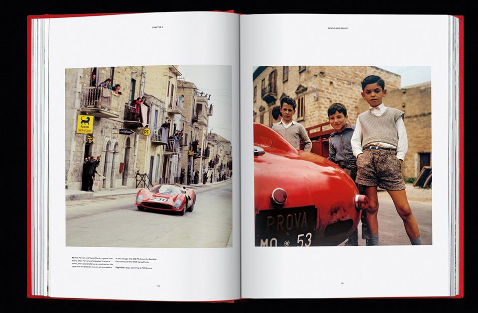 Ferrari Coffee Table Book
