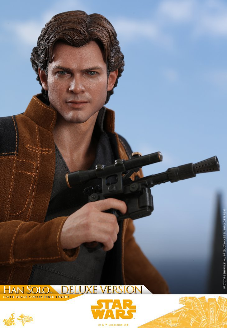Hot Toys Solo Han Solo Figure