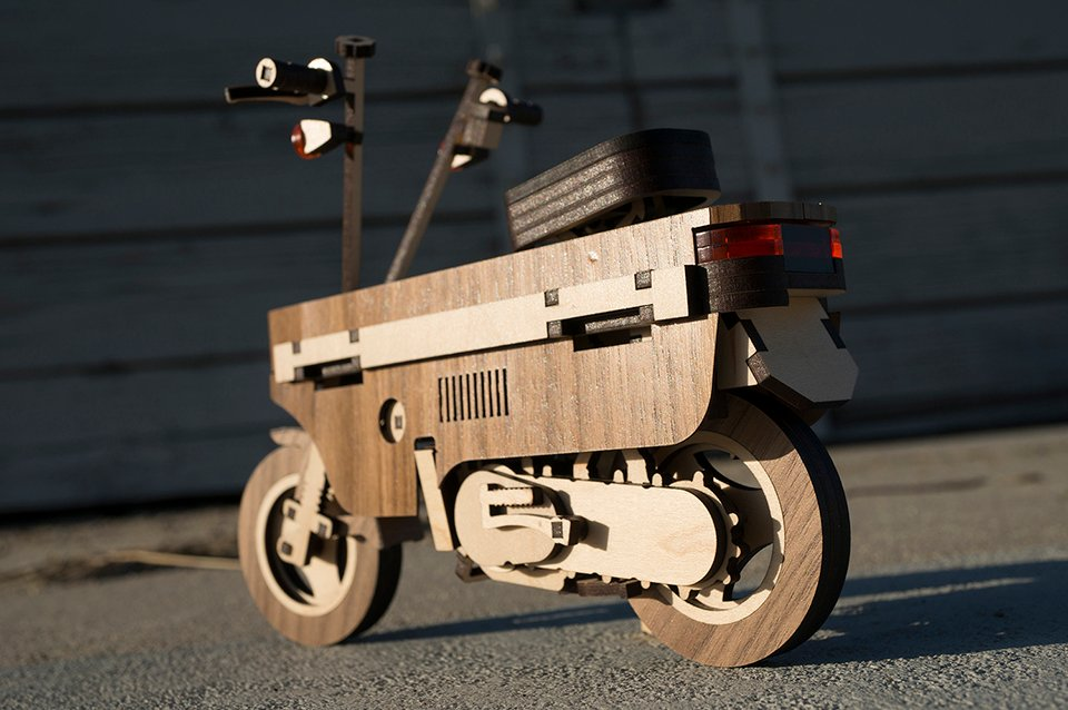 Lasercompo Scooter Model Kit