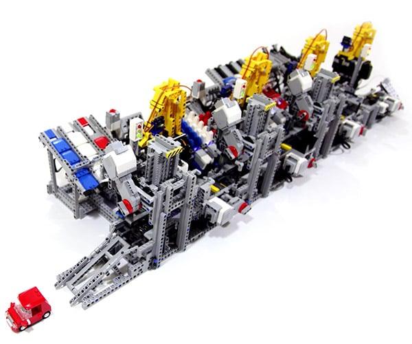 LEGO Car Factory
