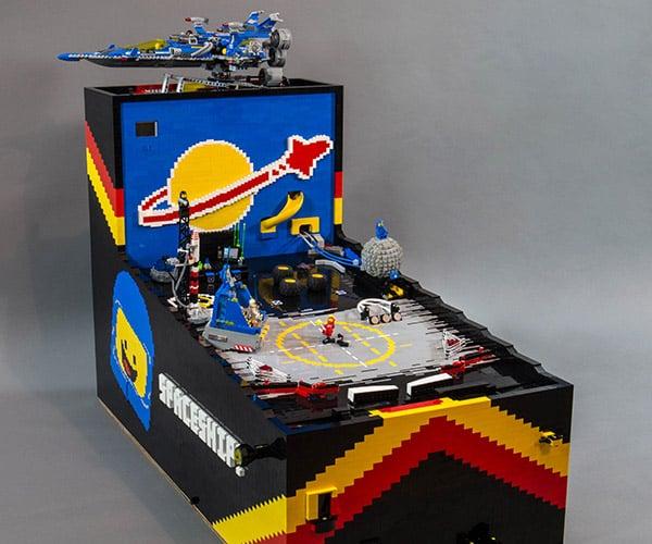 Custom LEGO Pinball Machine