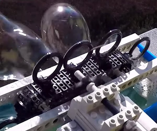 LEGO Bubble Blower Machine