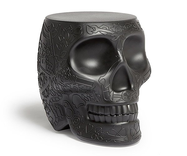 Skull Stool Side Table
