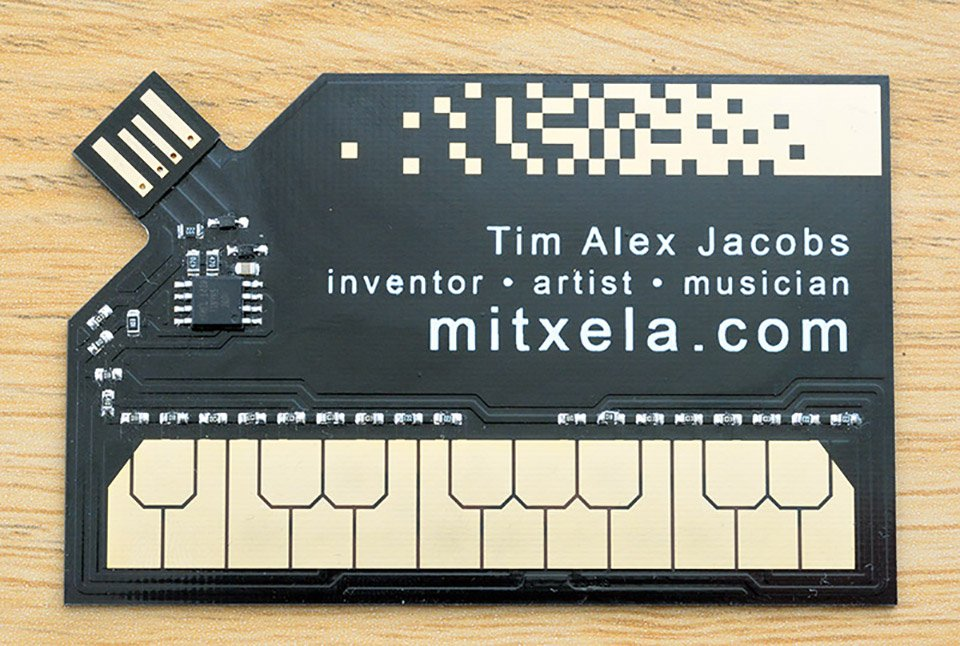 Stylophone Business Card