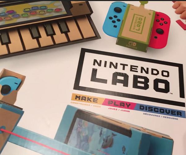 Dunkview: Nintendo Labo
