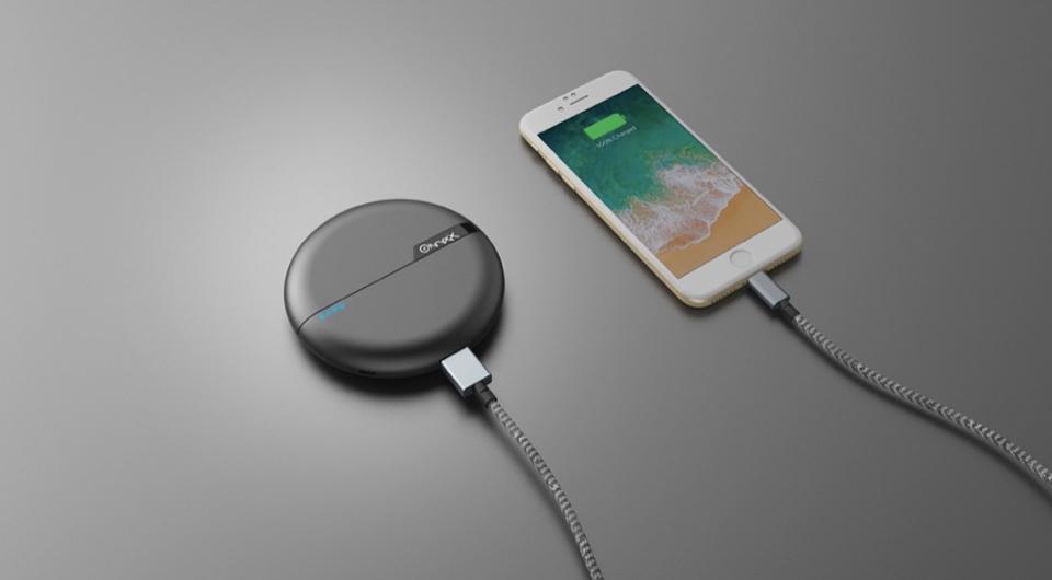 Onyxx Wireless Charging Power Bank
