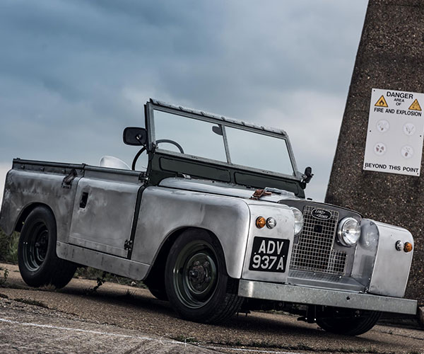 Series 2 Slammed Land Rover