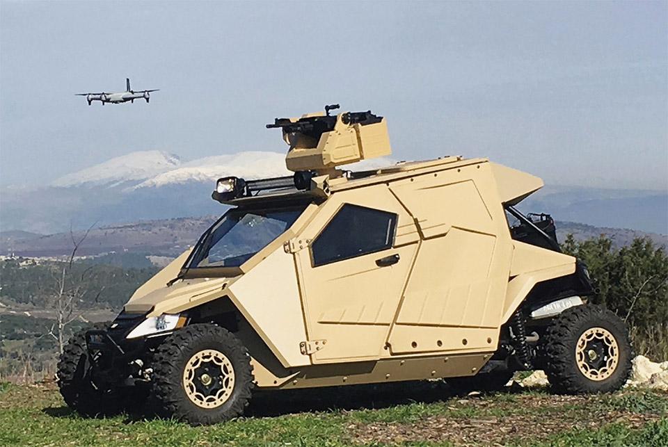Plasan Yagu Compact Tank