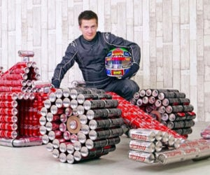 Soda Can Race Car