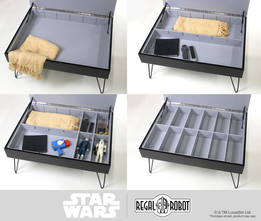 Star Wars Collector Case Table