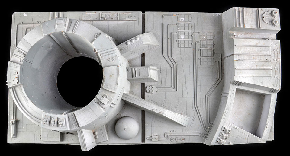 Star Wars Death Star Section