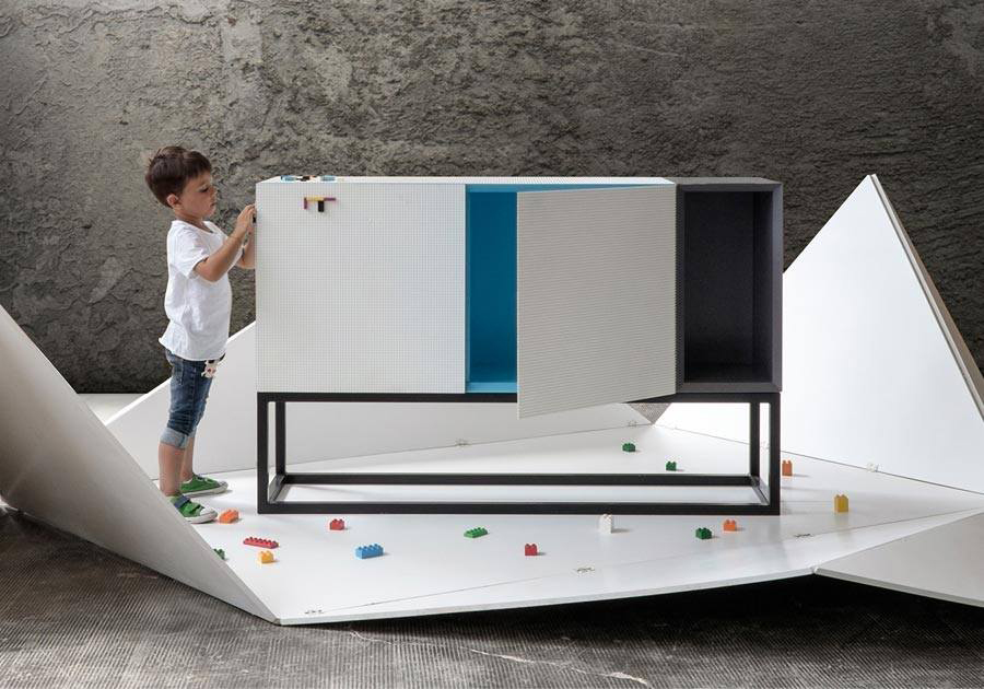 Stüda LEGO-compatible Furniture