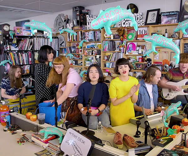 Superorganism: Tiny Desk Concert