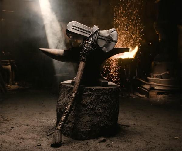 Forging Thor's Stormbreaker