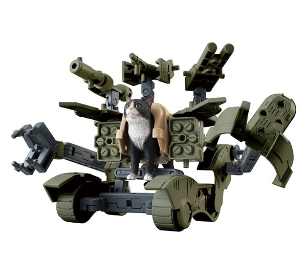 Weaponized Cat Action Figures