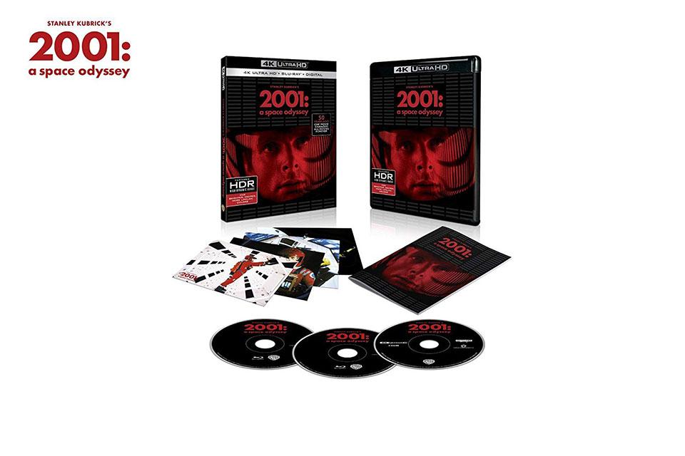 2001: A Space Odyssey 4K Blu-ray