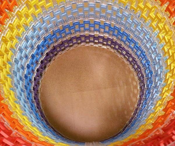 Circular Domino Wall