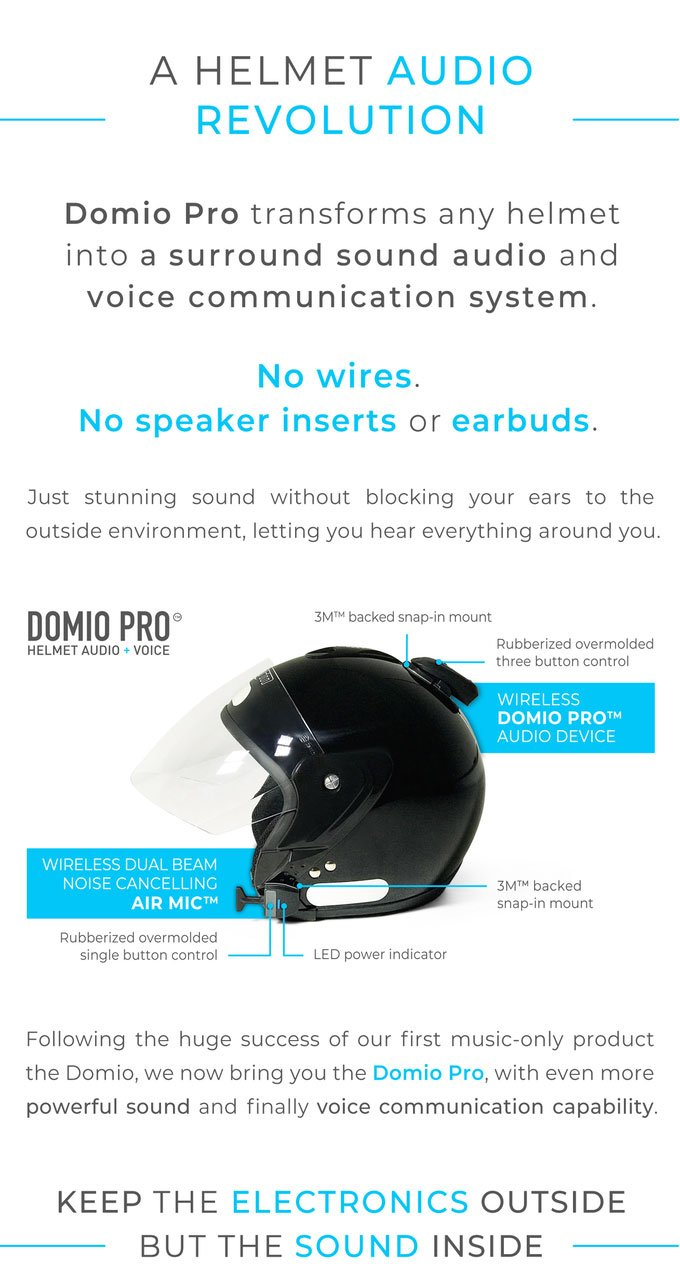 Domio Pro for Helmets