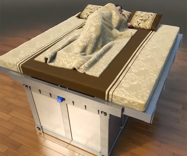Earthquake Safety Bed
