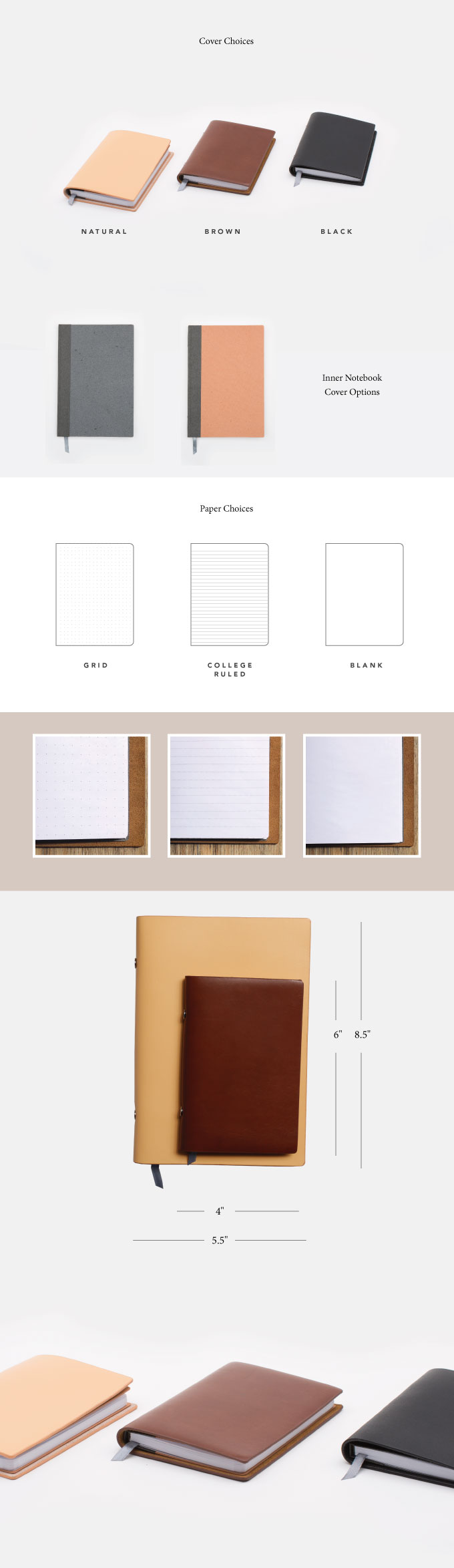 Endeavor Refillable Notebook